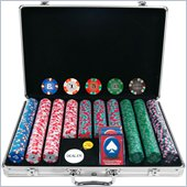 Trademark 650 Chip NexGenTPRO Classic Style Set With Aluminum Case