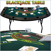 Trademark Full Size Folding Blackjack Table