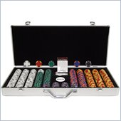 Trademark 650 Tri Color Ace/King 14 gram Chip Executive Aluminum Case