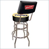 Trademark Retro Coors Banquet Padded Bar Stool with Back