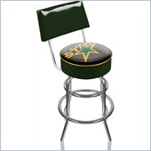Trademark Retro NHL Dallas Stars Padded Bar Stool with Back