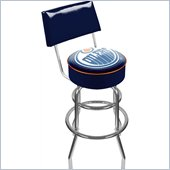 Trademark Retro NHL Edmonton Oilers Padded Bar Stool with Back
