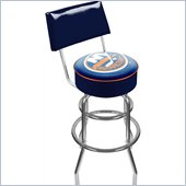 Trademark Retro NHL New York Islanders Padded Bar Stool with Back