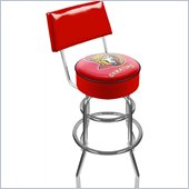 Trademark Retro NHL Ottawa Senators Padded Bar Stool with Back