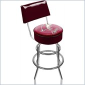 Trademark Retro NHL Phoenix Coyotes Padded Bar Stool with Back
