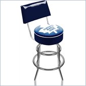 Trademark Retro NHL Toronto Maple Leafs Padded Bar Stool with Back
