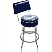 Trademark Retro NHL Vancouver Canucks Padded Bar Stool with Back