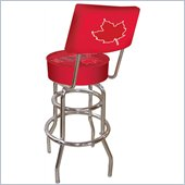 Trademark Retro Molson Canadian Padded Bar Stool with Back