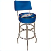 Trademark Retro Fabulous Las Vegas Padded Bar Stool with Back