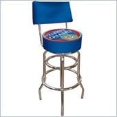 Trademark Retro United States Coast Guard Padded Bar Stool with Back
