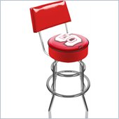 Trademark Retro North Carolina State Padded Bar Stool with Back