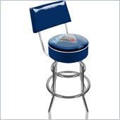 Trademark Retro University of Maine Padded Bar Stool with Back