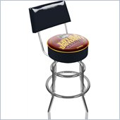 Trademark Retro Loyola University Chicago Padded Bar Stool with Back