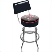 Trademark Retro Miami University Ohio Padded Bar Stool with Back