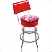 Trademark Retro Ohio State University Padded Bar Stool with Back