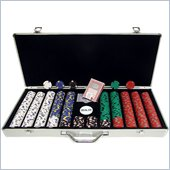 Trademark 650 13 gm Pro Clay Casino Chips With Aluminum Case