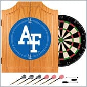 Trademark Air Force Dart Cabinet - Includes Darts and Board