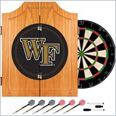 Trademark Wake Forest University Dart Cabinet Includes Darts and Board