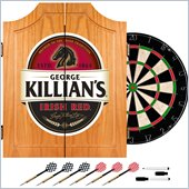 Trademark George Killians Dart Cabinet includes Darts and Board
