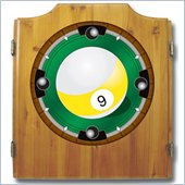 Trademark 9-Ball Dart Cabinet includes Darts and Board