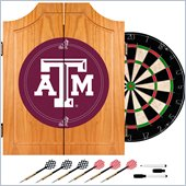 Trademark Texas A&M University Dart Cabinet -  Darts and Board