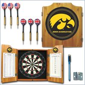 Trademark University of Iowa Dart Cabinet - Includes Darts and Board