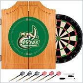 Trademark University of North Carolina Charlotte Dart Cabinet w/ Board