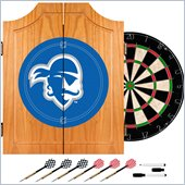 Trademark Seton Hall University Dart Cabinet w/ Darts and Board