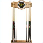 Trademark NHL Dallas Stars 2 piece Wood and Mirror Wall Cue Rack