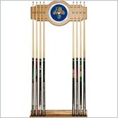 Trademark NHL Florida Panthers 2 piece Wood and Mirror Wall Cue Rack