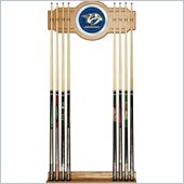 Trademark NHL Nashville Predators 2 piece Wood and Mirror Wall Cue Rack