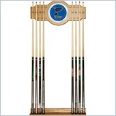 Trademark NHL St. Louis Blues 2 piece Wood and Mirror Wall Cue Rack