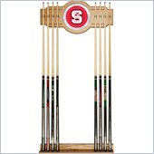 Trademark North Carolina State 2 piece Wood and Mirror Wall Cue Rack