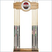 Trademark George Killians  2 piece Wood and Mirror Wall Cue Rack