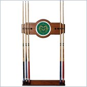 Trademark Colorado State University Wood and Mirror Wall Cue Rack