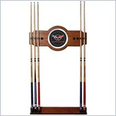 Trademark Corvette C5 2 piece Wood and Mirror Wall Cue Rack
