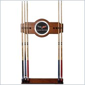 Trademark Corvette C6 2 piece Wood and Mirror Wall Cue Rack