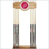Trademark University of Dayton Wood and Mirror Wall Cue Rack