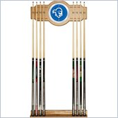 Trademark Seton Hall University Wood and Mirror Wall Cue Rack