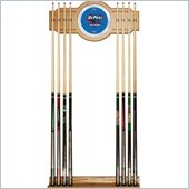 Trademark DePaul University Wood and Mirror Wall Cue Rack