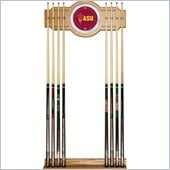 Trademark Arizona State University Wood and Mirror Wall Cue Rack
