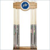 Trademark United States Naval Academy Wood and Mirror Wall Cue Rack
