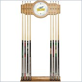 Trademark University of Toledo Wood & Mirror Wall Cue Rack