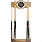 Trademark Wake Forest University Wood and Mirror Wall Cue Rack