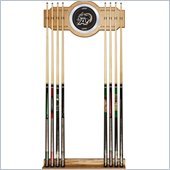 Trademark Army Wood and Mirror Wall Cue Rack