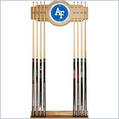 Trademark Air Force Wood and Mirror Wall Cue Rack