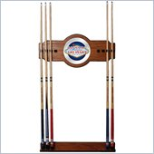 Trademark Las Vegas 2 piece Wood and Mirror Wall Cue Rack