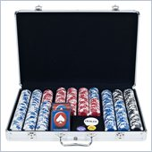 Trademark 650 pc LUCKY CROWN 11.5g Chip Set w/Executive Alum. Case