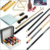 Trademark 32 piece Billiards Accessories Kit for your Pool Table