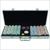 Trademark 500 Chip 11.5g HIGH ROLLER Set w/Aluminum Case
